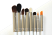 A set of cosmetic brushes PLH Master eye (M71-M78) - with case