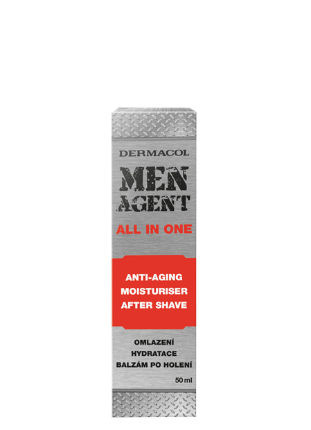 Men Agent Anti-aging gel-cream and aftershave balm