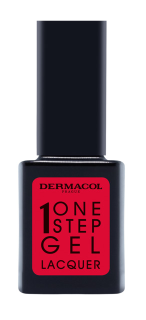 One step gel lacquer nail polish