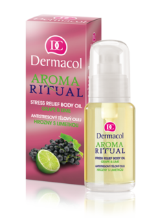 AROMA RITUAL BODY OIL -  GRAPE & LIME