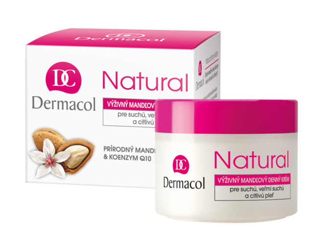 Natural almond day cream