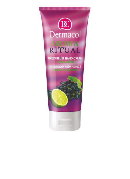 Aroma Ritual Hand Cream grape and lime