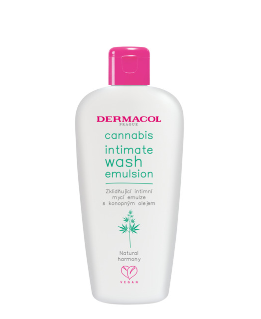 Cannabis intimate wash emulsion